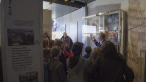 9/11 NEVER FORGET Mobile Exhibit Visits Farris Middle School