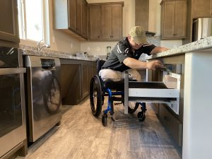 Foundation Welcomes USMC Cpl. Jeffers Into New Smart Home